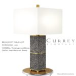 CURREY & COMPANY – BEAUCHAMP TABLE LAMP