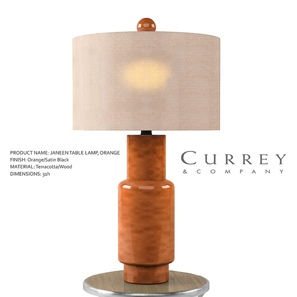 Janeen Table Lamp 3d model