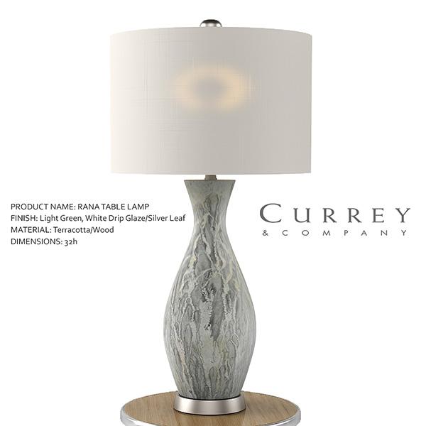 Rana table lamp 3d model