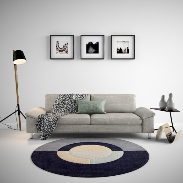 3d Interior Scene with boconcept furniture