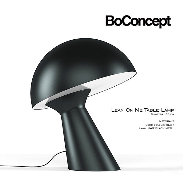 Lean On Me Table Lamp 3d Model